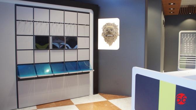 El 39 le n de correos 39 ya luce en el hall de las oficinas de - Oficinas de correos en leon ...